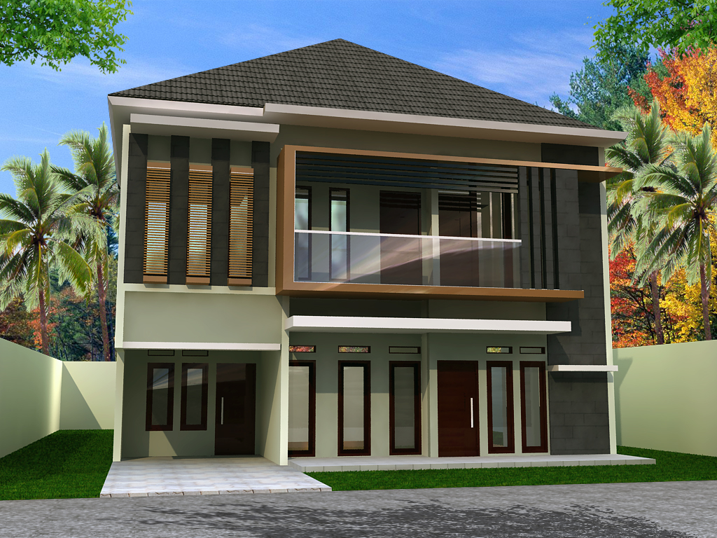 Contoh-contoh desain rumah