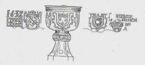 fonte battesimale della chiesa san Lorenzo, Les Arnauds
