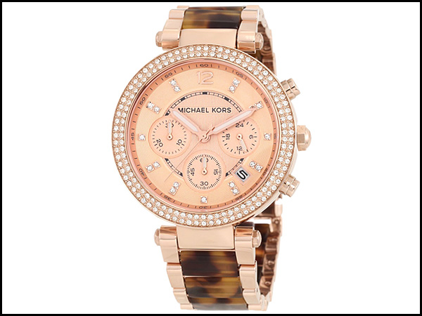 Michael-Kors-Parker-Tortoise-Rose-Gold-Dial-Women's-Watch-MK5538