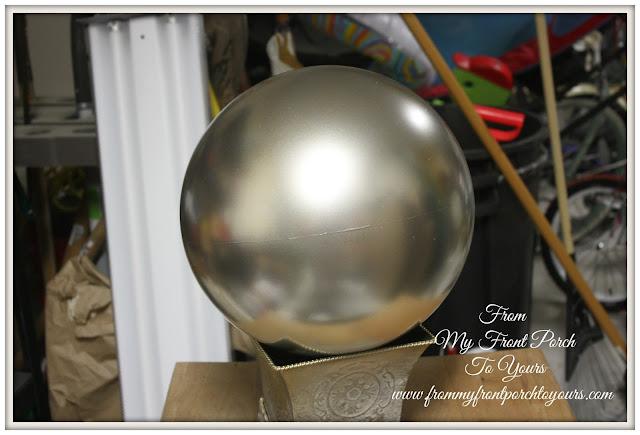 DIY Gazing Ball