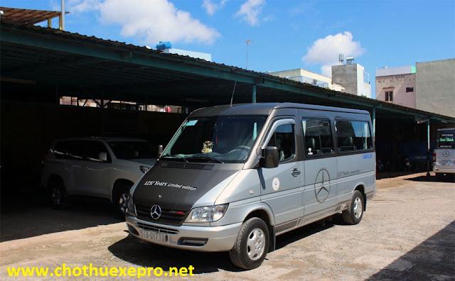 Cho thuê xe 16 chỗ Mercedes Benz tại Hà Nội