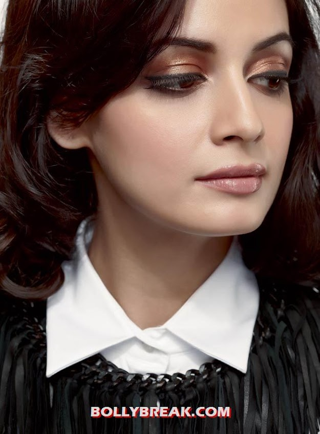  Dia Mirza Face close up -  Dia Mirza Face Close Up Wallpapers