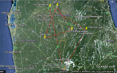 культурные треугольники Шри-Ланки, Анупадхапура, Полоннарува, Канди, Сигирия, Михинтале, Япахува