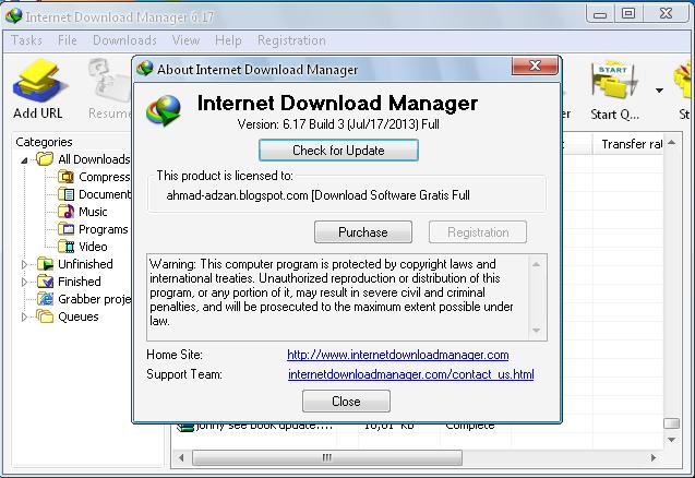 Internet Download Manager 2019 Full Version Free Download