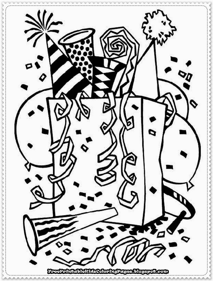 Canny image in printable new years coloring pages