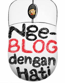 ngeblog dengan hati