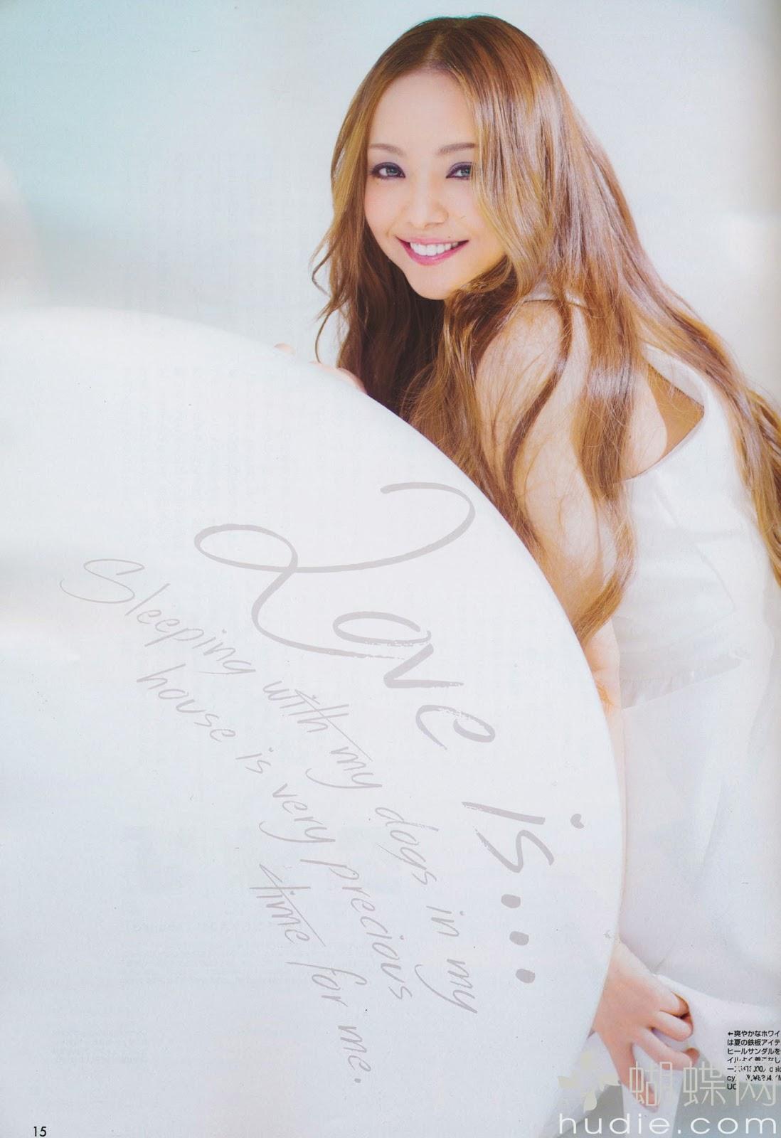Namie Amuro For Vivi Magazine, Japan, July 2014