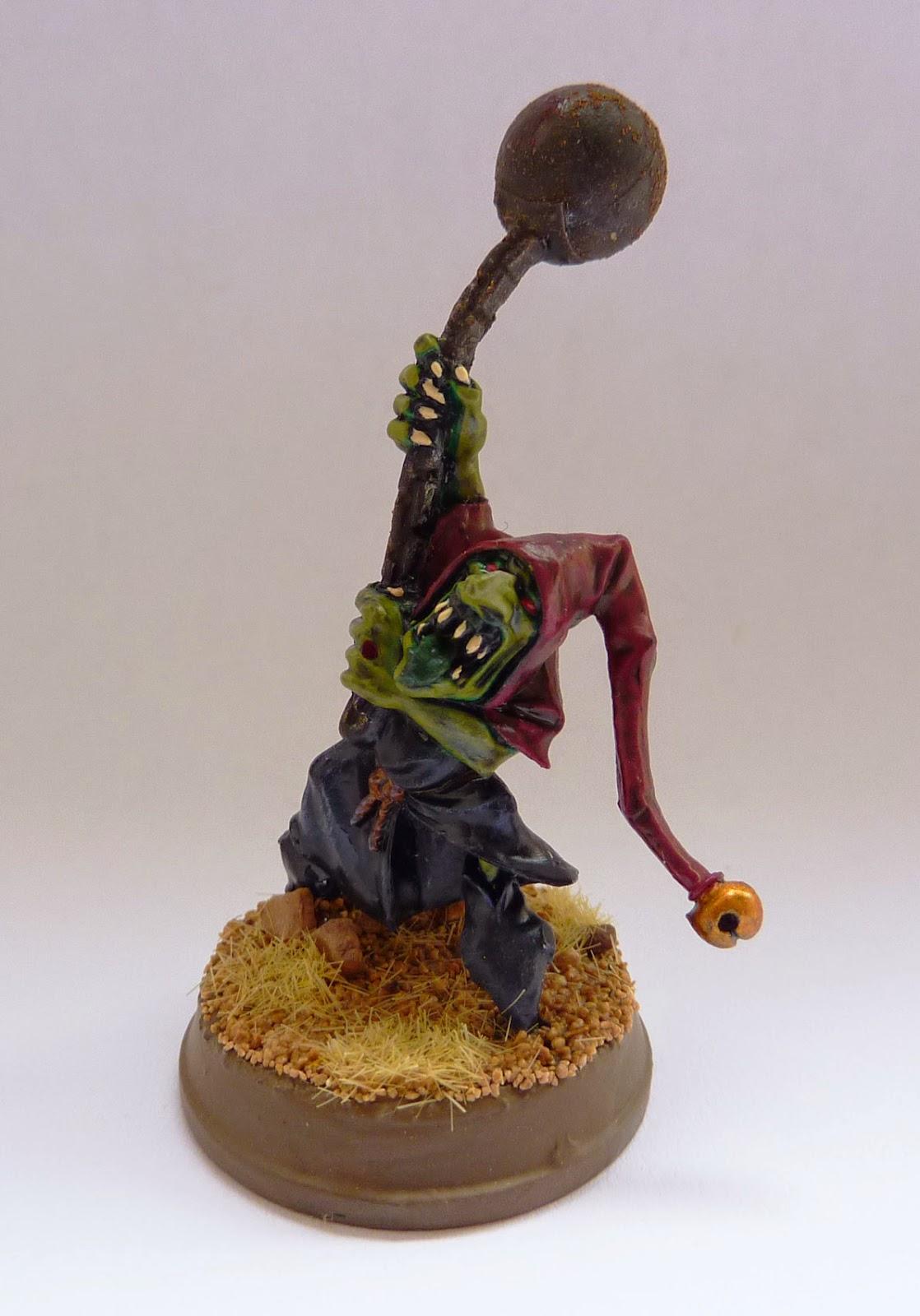 Night Goblin fanatic from Warhammer Fantasy Battle.