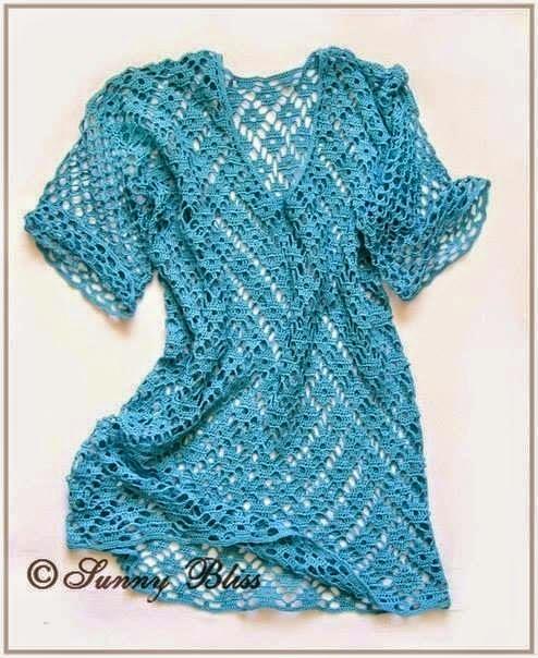 patron blusa de mujer en ganchillo