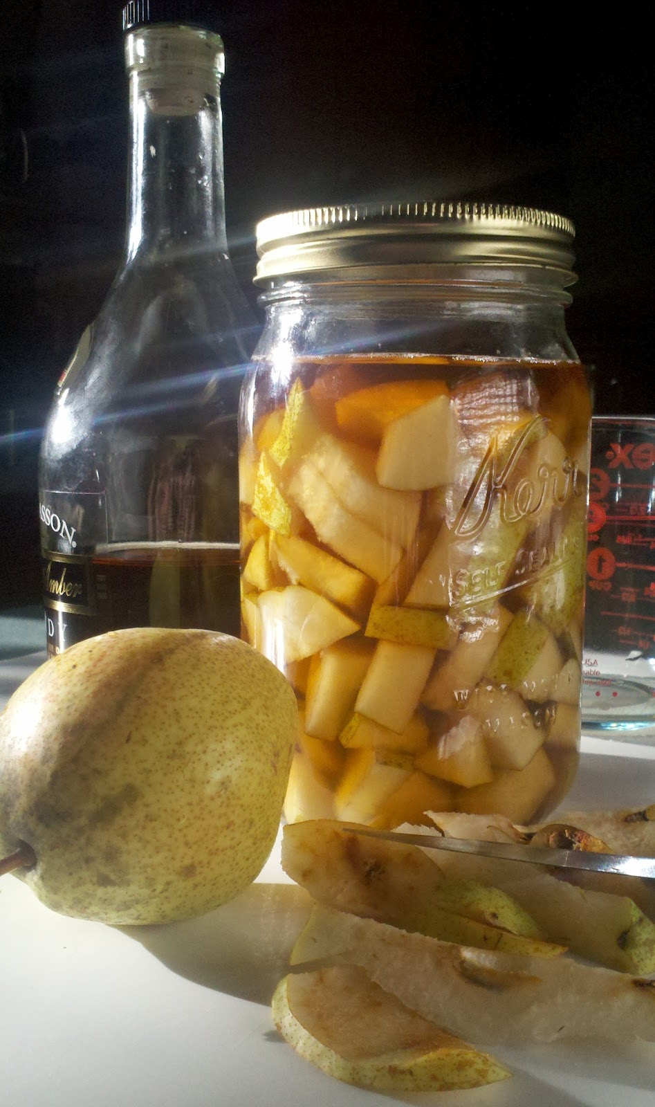 Pear brandy