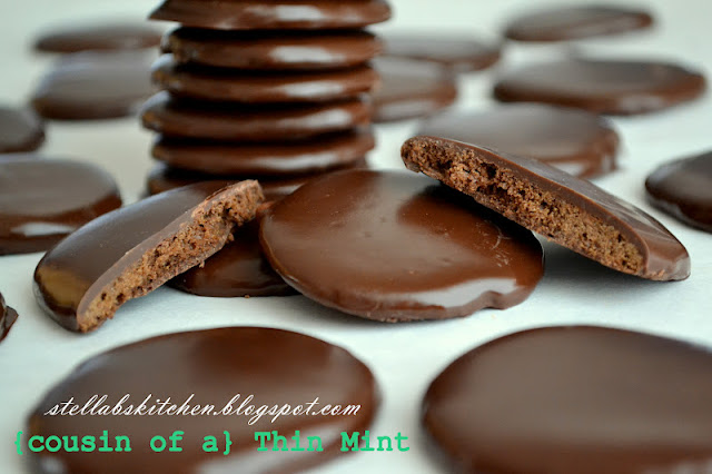 Cousin of a Thin Mint Cookies