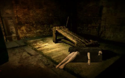 Basement of Dead Haunted House