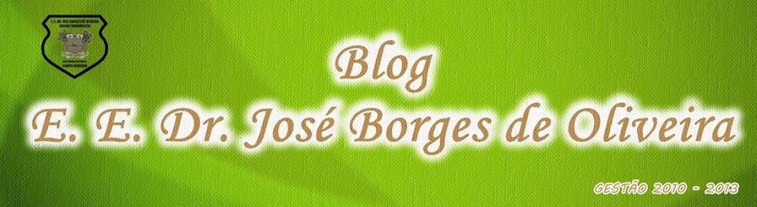 Blog da E E Dr José Borges de Oliveira