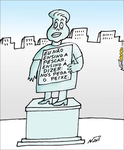 Estátua ou digo estauta, MEC?