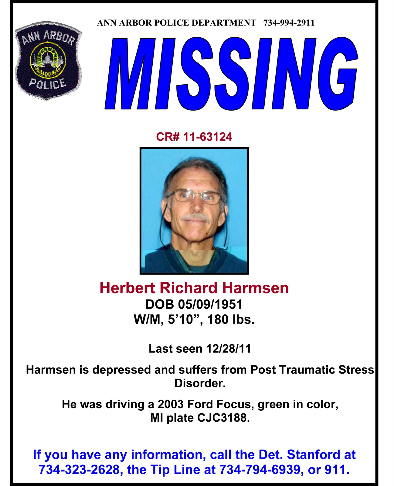 Missing Person Clip Art 7 missing poster template – Missing Poster Generator