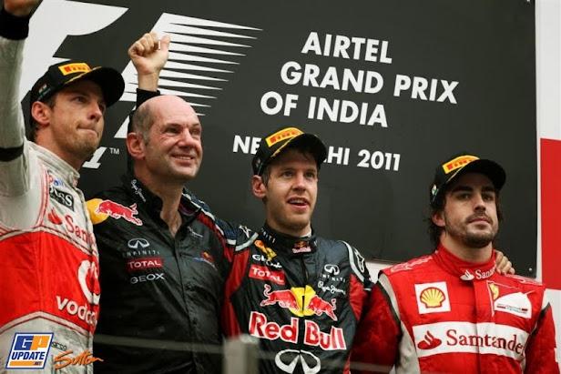 GP de India 2011: Sebastian Vettel Grand Chelem
