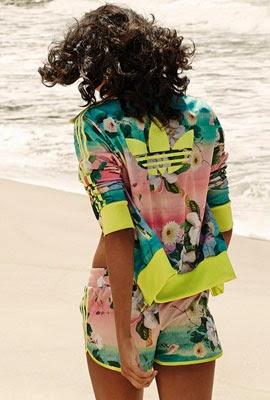 Adidas Originals e Farm coleção 2014 short e jaqueta