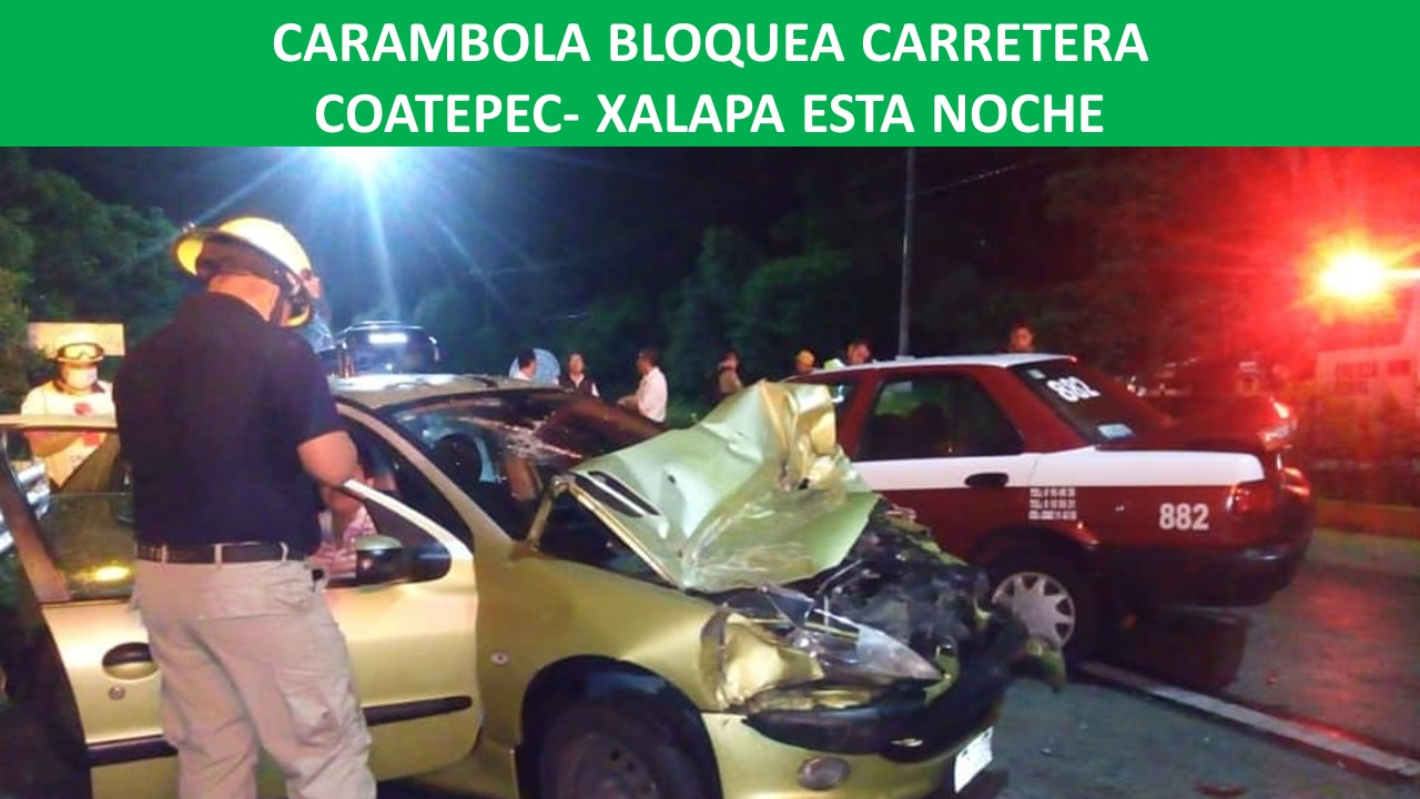 BLOQUEA CARRETERA COATEPEC- XALAPA ESTA NOCHE