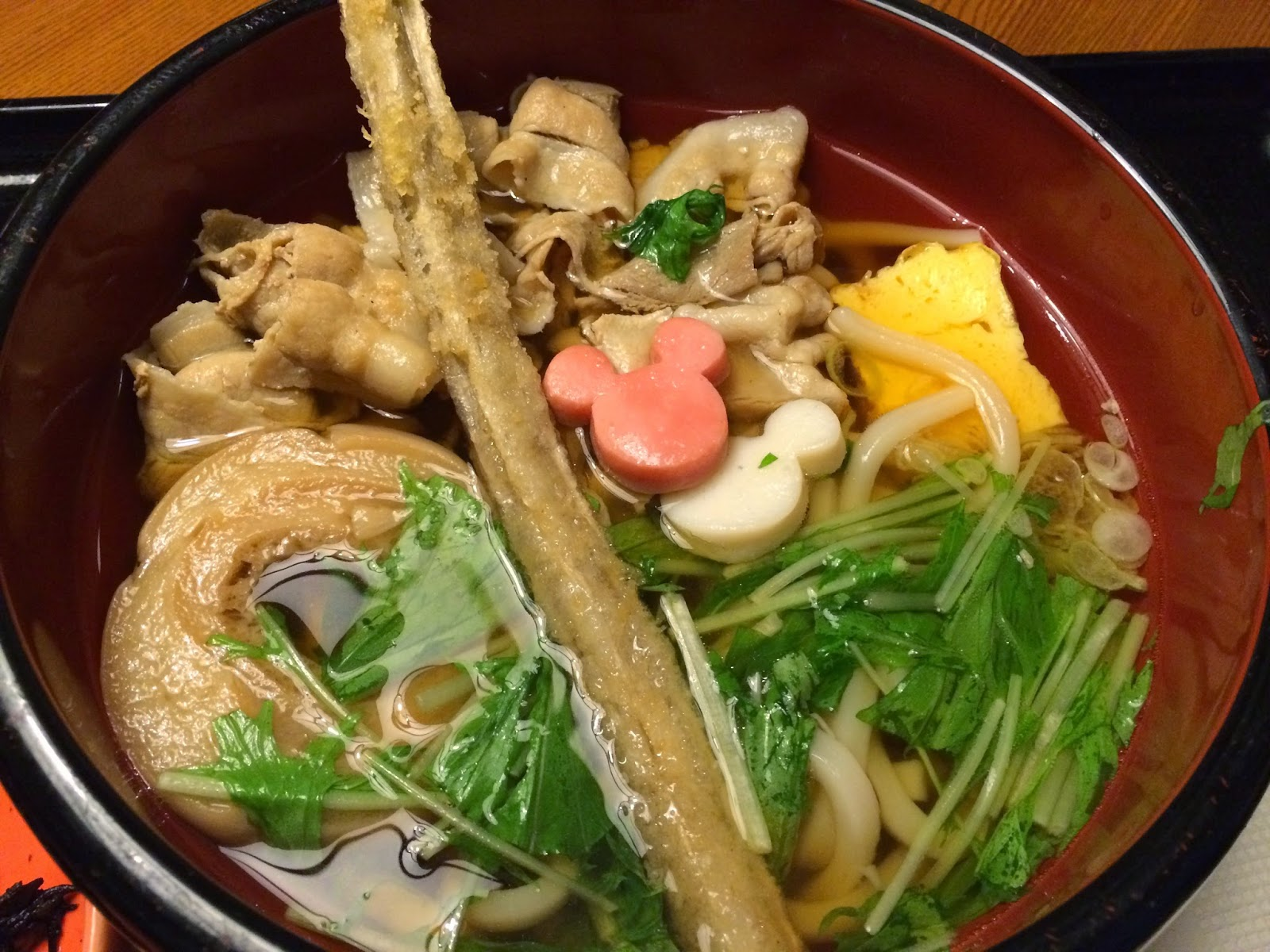 Tokyo Disneyland japanese food restaurant