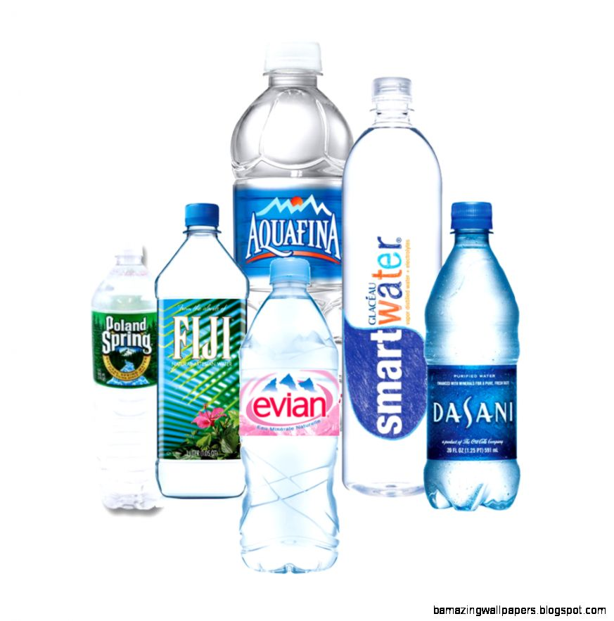 Bottled water brands