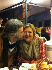 Cena con Inma y David, 18/03/2011