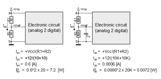 how to design voltage reference by limiting current