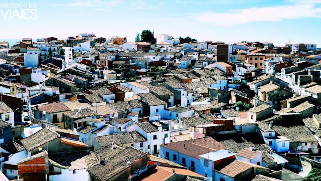 Vistas de Villacarrillo desde la torre de la Iglesia de la Asunción