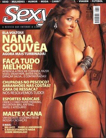 Nana Gouvêa nua