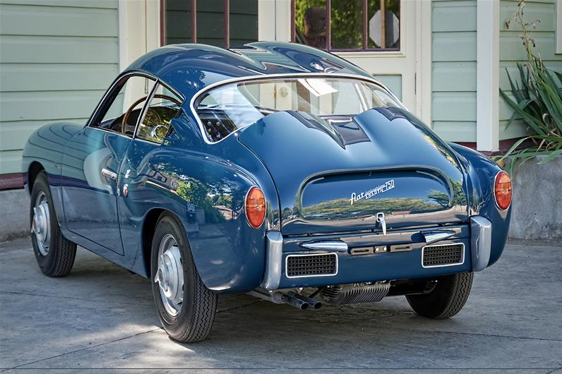 Fab Wheels Digest F W D Fiat Abarth 750 Zagato Coupe
