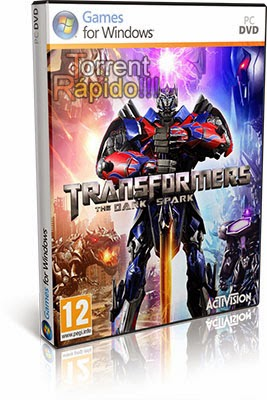 Download Capa 3D TRANSFORMERS: Rise of the Dark Spark PC