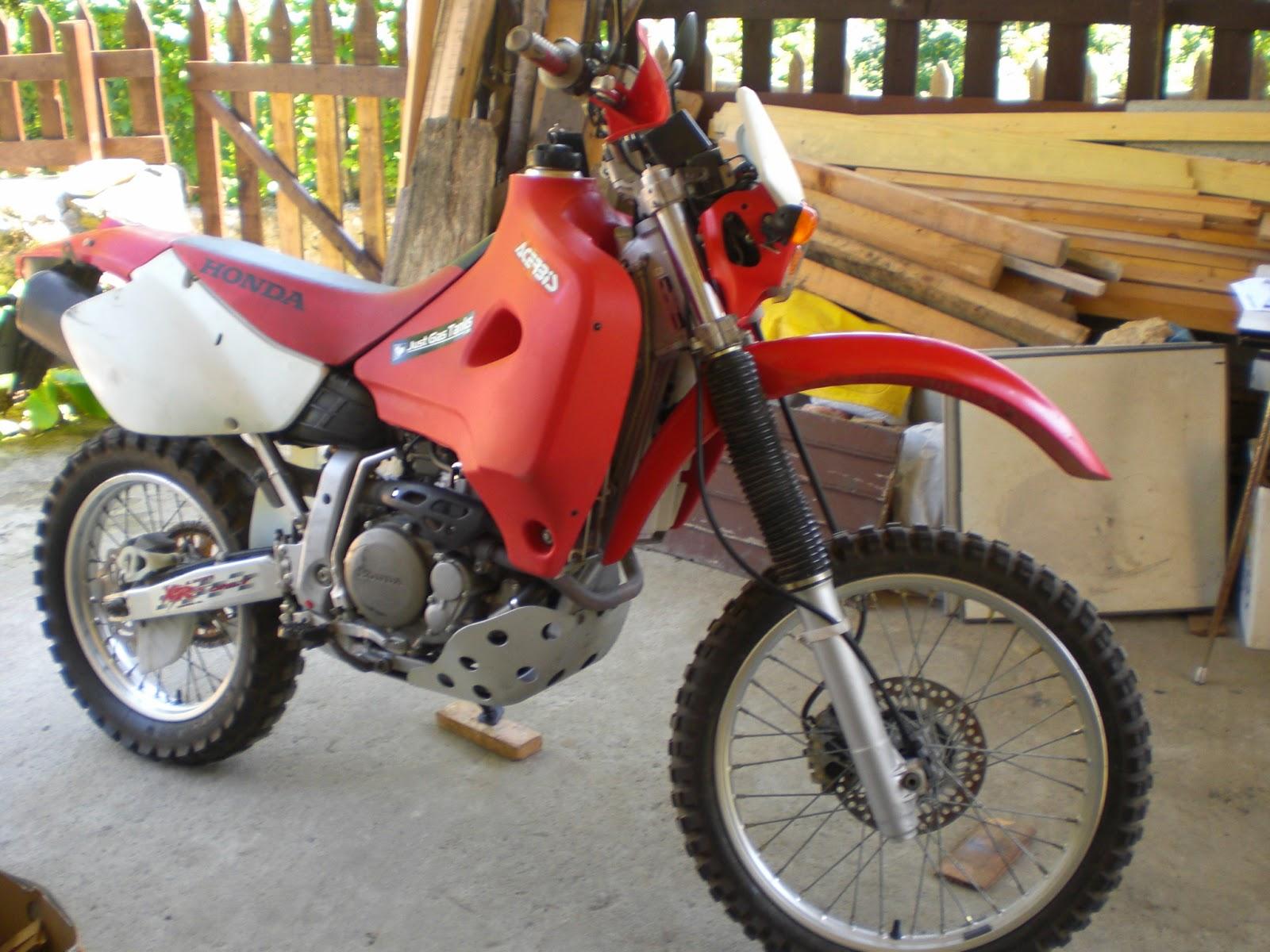Rutas En Moto Por Extremadura Yamaha Xt 600e Viaje En