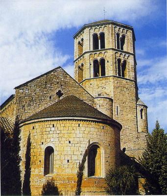 De viajes y escapadas - Página 5 Monasterio+Benedictino+de+Sant+Pere+de+Galligants+en+Girona