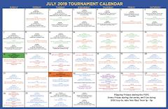 July Tournament Calendar