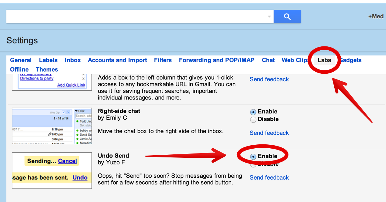 Gmail themes for mobile - To Set A Time Limit For Your Cancellation Message Click On Settings Again And Then On General Then Select The The Timing You Want As Is Shown In The