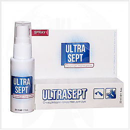Ультрасепт - антисептик для рук