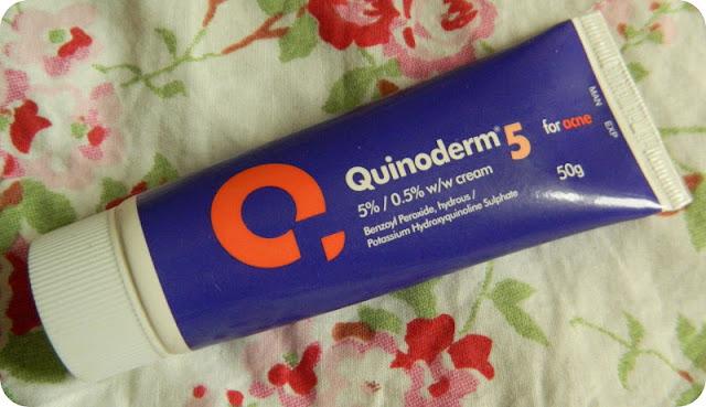 Quinoderm 5 cream for acne