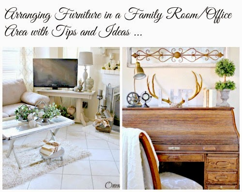 Arranging Furniture in Family Room at One More Time Events.com