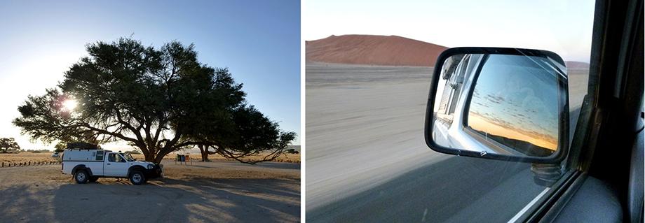 Ynas Reise Blog | Sussusvlei in Namibia bei 45 Grad im Schatten