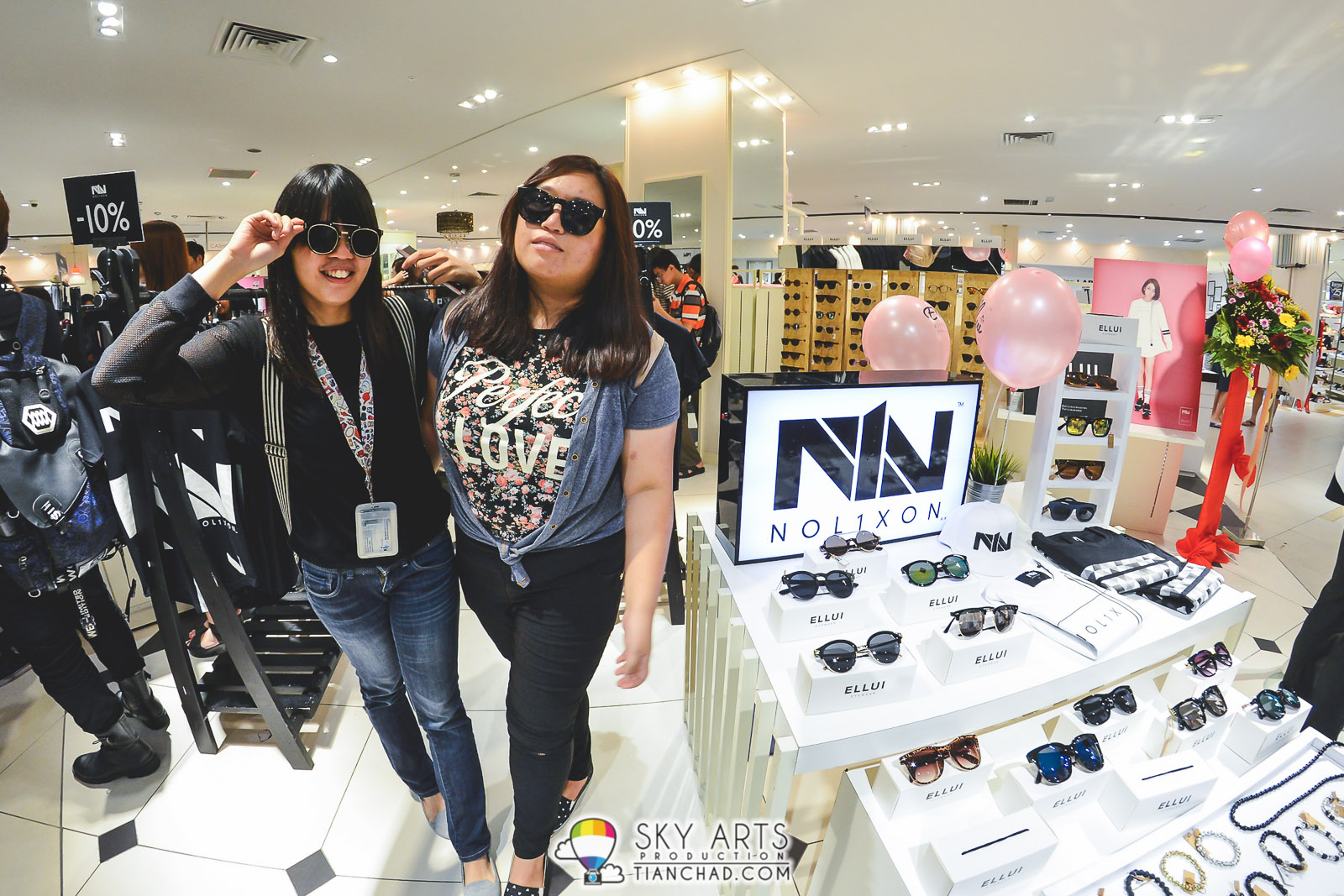 ELLUI Eyewear together with NOL1XON opened a pop-up store at ISEAN@KLCC