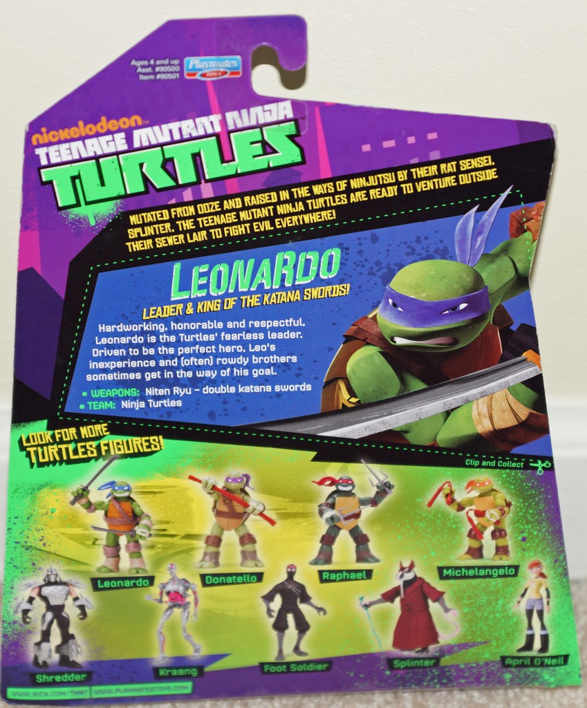 Teenage Mutant Ninja Turtles 2012 Neuralizer Toy : New tmnt playmates action figures appear on ebay