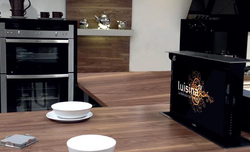 Famoso Pararse Zona De Tv Para La Cocina Modelo - Ideas para ...