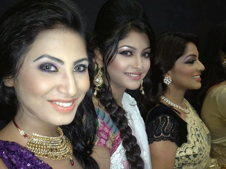 Alisha Pradhan, Sharika and Monalisha