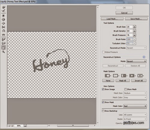 How To Make Honey Text Effect With Photoshop