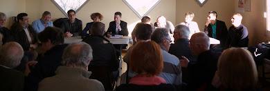 lancement de la campagne élections départementales 85  sur les Olonnes