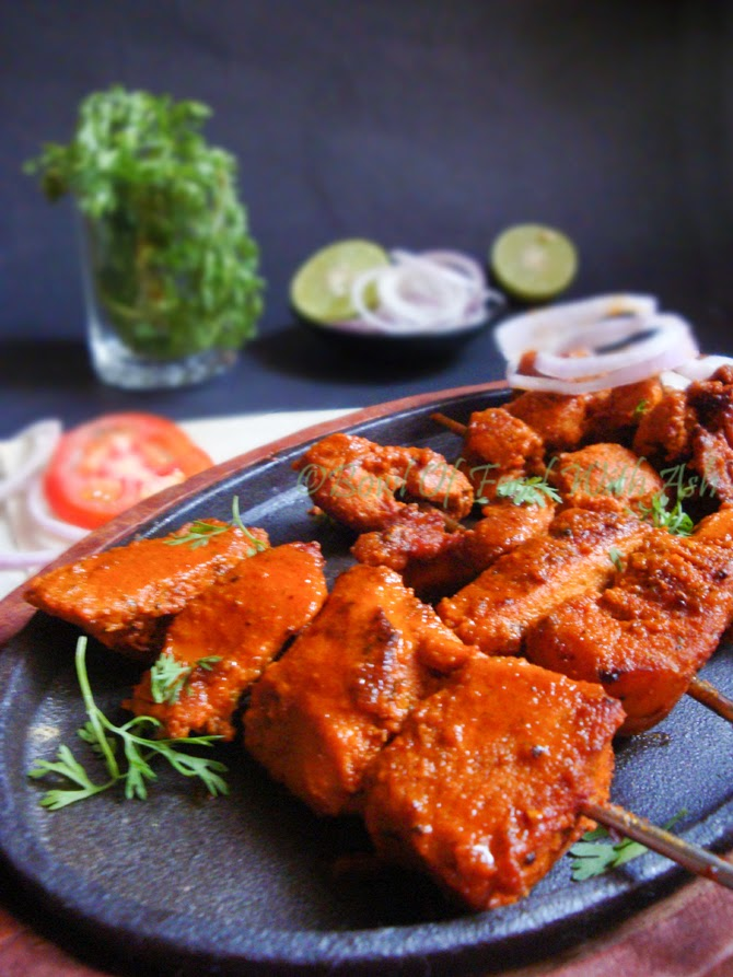 Grilled Chicken Tikka Recipe