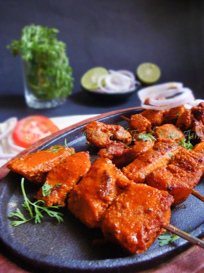 Grilled Chicken Tikka Recipe