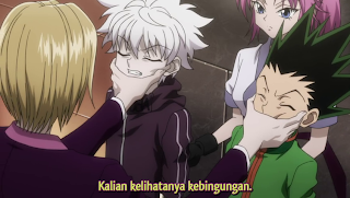 hunter x hunter episode 57 sub indo