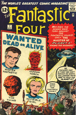 Fantastic Four #7, Kurrgo and Planet X
