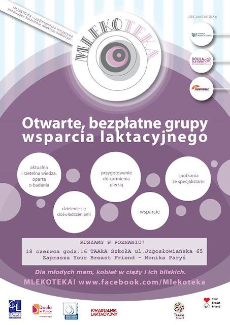 Mlekoteka w Poznaniu - Ważne aspekty na początku karmienia piersią