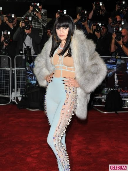 Jessie J Flaunts Nude Bodysuit Photos